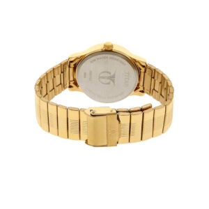 Titan Champagne Dial Stainless Steel Strap Watch 1580YM05