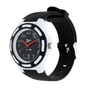 Zoop Black Dial Analog Watch for Girls 16005PP01