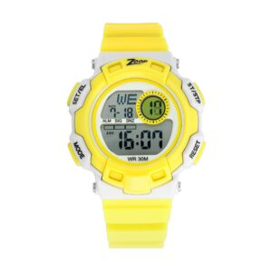 Zoop Yellow Strap Digital Watch for Kids 16009PP03