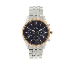 Titan Neo Blue Dial Multifunction Watch for Men 1734KM01