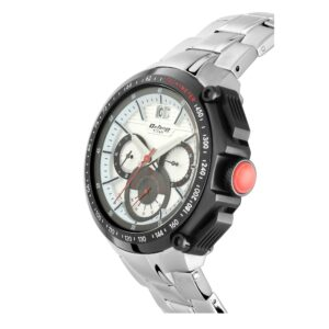 Titan Octane White Chronograph Watch for Men with Tachymeter 1765KM01