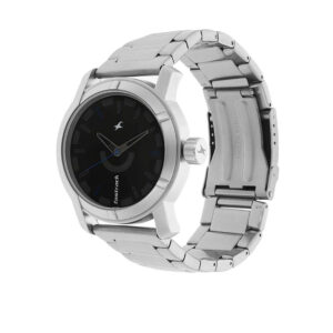 Fastrack Black Dial Analog Watch for Guys 3021SM01