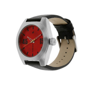 Fastrack Checkmate Red Dial Analog Watch for Men 3110SL02