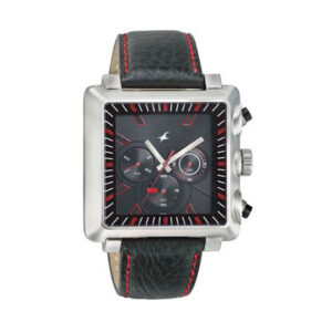 Fastrack Black Dial Chronograph Watch for Men 3111SL01