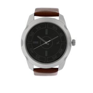 Fastrack Black Dial Analog Watch for Guys 3123SL03