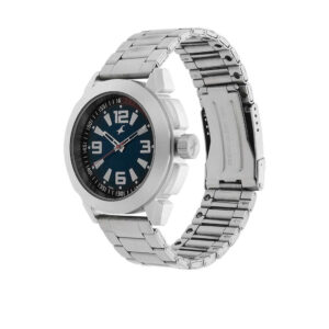 Fastrack Blue Dial Analog Watch for Men 3130SM02