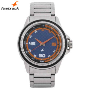 Fastrack Blue Dial Analog Watch for Men 3142SM02