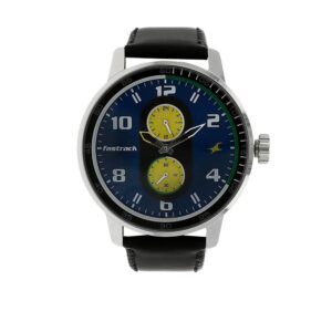 Fastrack Grey Dial Analog Watch for Men 3159SL02