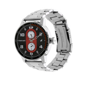 Fastrack Grey Dial Analog Watch for Men 3159SM01
