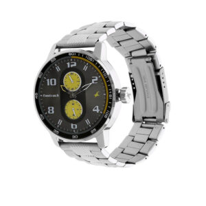 Fastrack Grey Dial Analog Watch for Men 3159SM02
