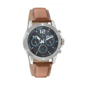 Fastrack Black Dial Multifunction Watch for Guys 3169SL01