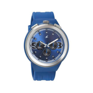 Fastrack Blue Dial Chronograph Watch for Men 38002PP03