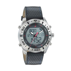 Fastrack Leather strap watch 38034SL03