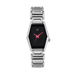 Fastrack Black Dial Analog Watch for Women 6094SM02