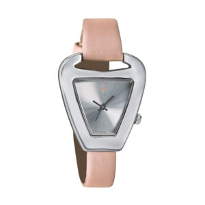 Fastrack Leather Strap Watch for Women 6102SL01