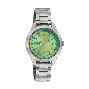 Fastrack Green Dial Analog Watch for Women 6129SM02