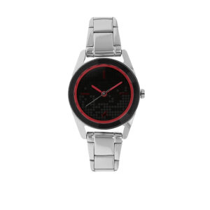 Fastrack Black Dial Analog Watch for Women 6144SM01
