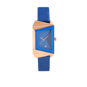 Fastrack Blue Dial Analog Watch for Women 6148WL01