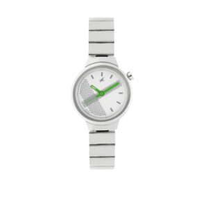 Fastrack Checkmate Off White dial Analog Watch for Women 6149SM03