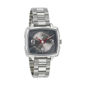 Fastrack Loopholes Grey Dial Analog Watch for Women 6167SM01