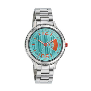 Fastrack Loopholes Blue Dial Analog Watch for Women 6168SM01