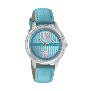 Fastrack Loopholes Blue Dial Analog Watch for Women 6169SL02