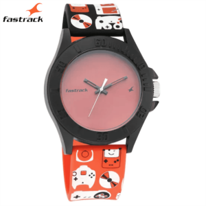 Fastrack Arcade from Fastrack – Blue Dial Analog Unisex Watch 68013PP02