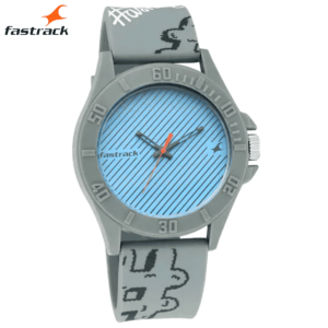 Fastrack Hashtag Blue Dial Analog Unisex Watches 68013PP04