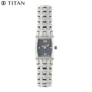 Xylys Black Dial Analog Watch for Women 9765SM01