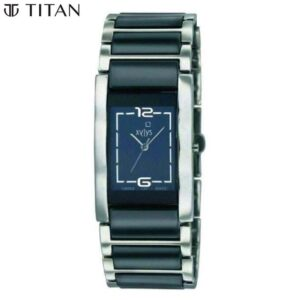 Xylys Black Dial Analog Watch for Women 9767DM02