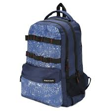 Fastrack Blue Polyester Laptop Backpack for Guys A0648NBL01
