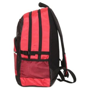 Fastrack Red Polyester Laptop Backpack for Guys A0652NRD01