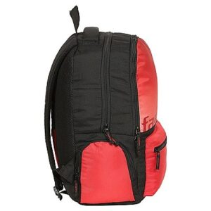 Fastrack Red Polyester Laptop Backpack for Guys A0679NRD01