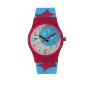 Zoop Multicoloured Dial Analog Watch for Girls C3028PP09