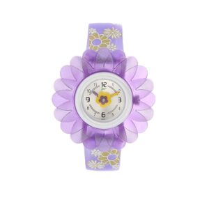 Zoop Silver Dial Analog Watch for Girls C4005PP02