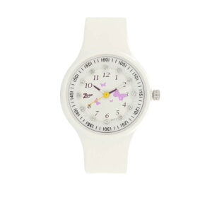 Zoop Multicoloured Dial Analog Watch for Girls C4038PP02