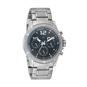 Fastrack Black Dial Multifunction Watch for Guys 3169SM02