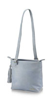 Fastrack Plain Blue PU Tote Bag for Girls A0552PBL01