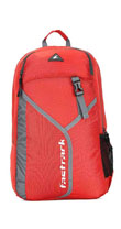 Fastrack Textured Red Nylon Laptop Backpack for Guys A0656NRD01