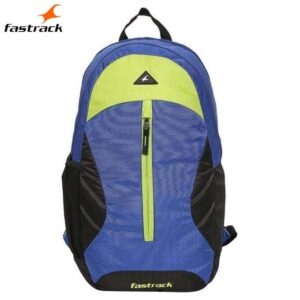 Fastrack Plain Blue Polyester Backpack for Guys A0692NBL01