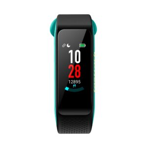 REFLEX 3.0 DUAL TONED SMART BAND IN MIDNIGHT BLACK & TURQUOISE ACCENT SWD90067PP02