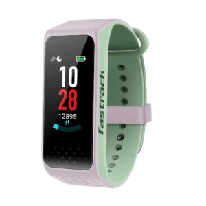 REFLEX 3.0 DUAL TONED SMART BAND IN PINK STRAP & GREEN ACCENT SWD90067PP04